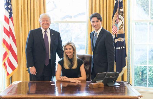Fotografía de Ivanka Trump causa polémica
