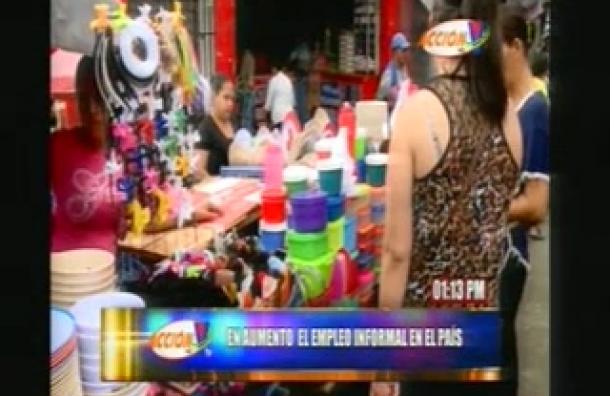 Aumenta el empleo informal en Honduras