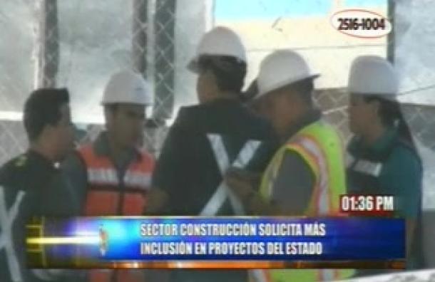 Sector construcción pide favorecer la mano de obra nacional