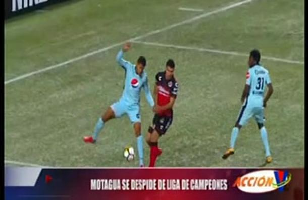 Motagua se despidió de la Liga de Campeones