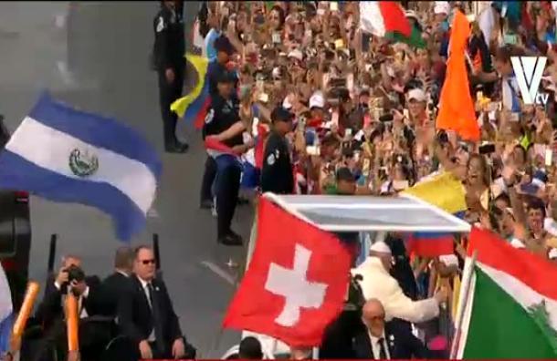 Tercer día de visita del Papa Francisco en Panamá
