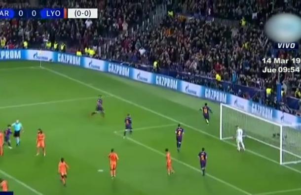 Barcelona golea y clasifica a los octavos en la Champions