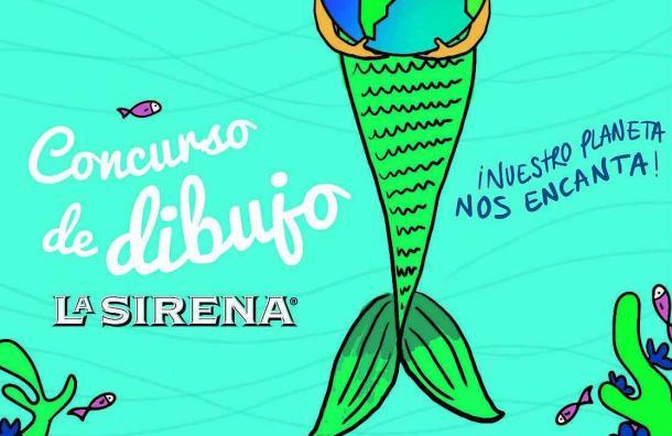La Sirena presenta concurso de dibujo Nuestro planeta nos encanta