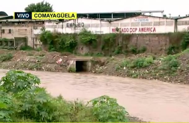 Nivel de las aguas del río Choluteca se mantiene normal