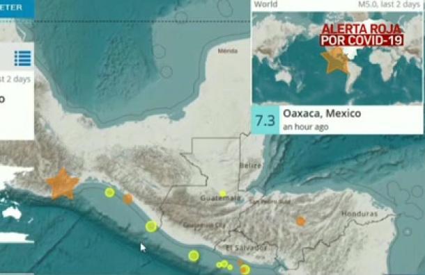 Sismo de magnitud 7,3 sacude a México