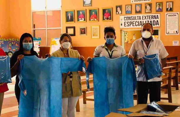 Supermercados La Colonia da importante donativo al Hospital Hermano Pedro en Catacamas