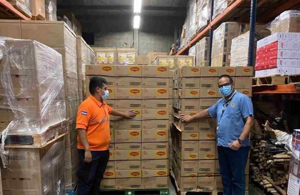 Nestlé Hondureña donará 892 mil porciones de alimentos a los afectados por Eta