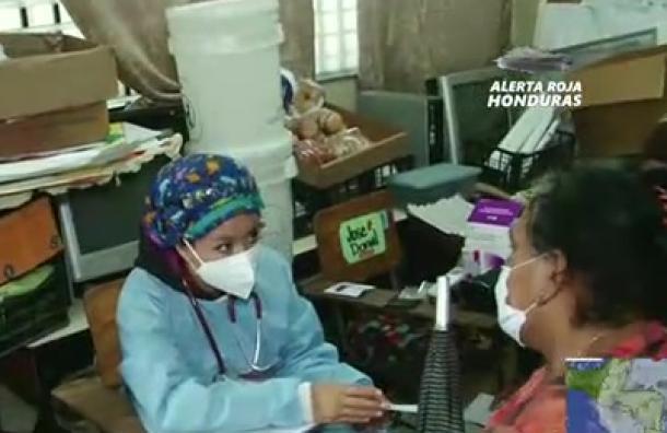 Salud realiza brigadas médicas para atender a damnificados