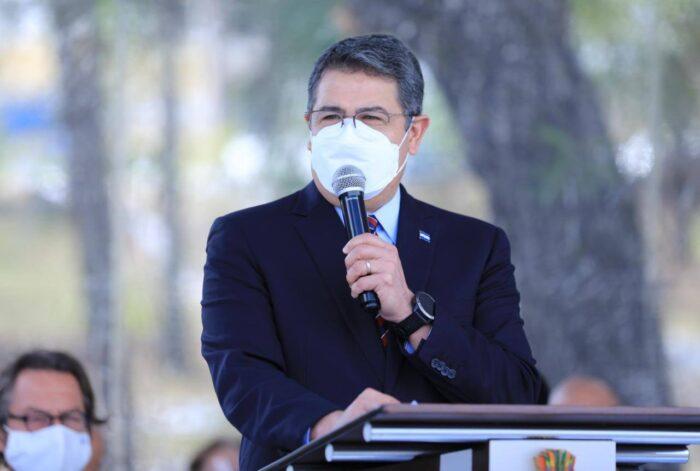 Pdte Hernández indica reducción de violencia en 37% en Honduras