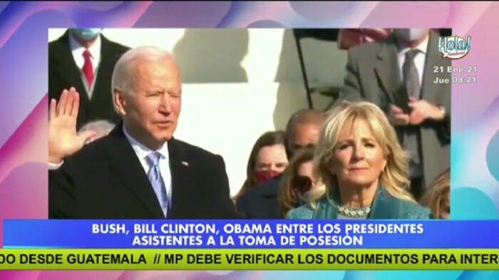 Joe Biden asumió la presidencia en Estados Unidos