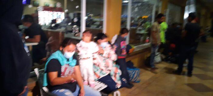 Algunos hondureños ya están en Guatemala