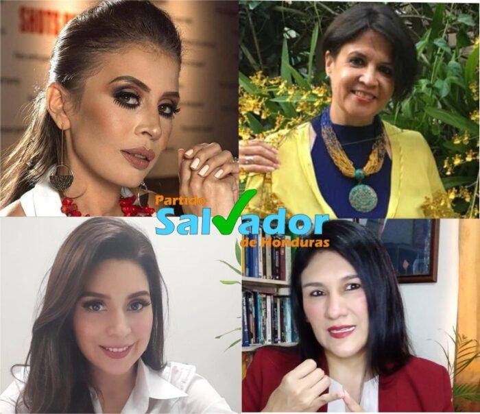 Partido Salvador de Honduras premia mujeres hondureñas