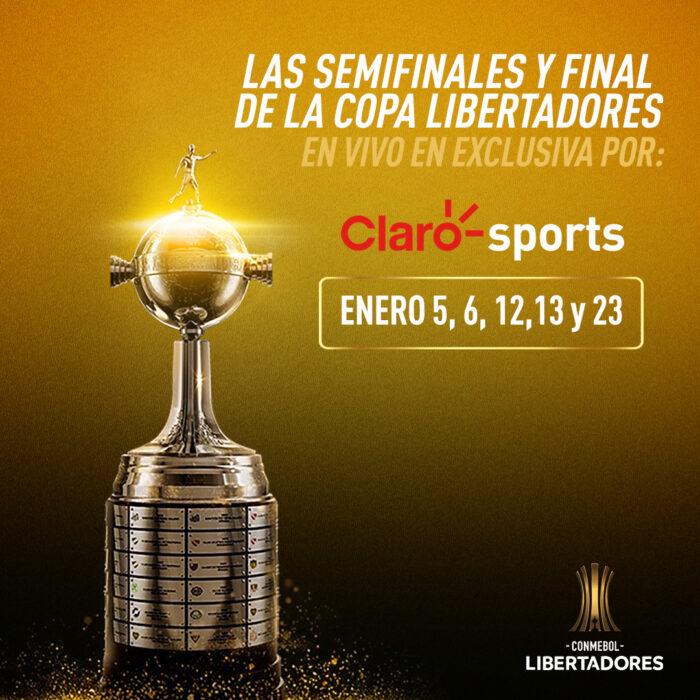 Copa Libertadores con Claro
