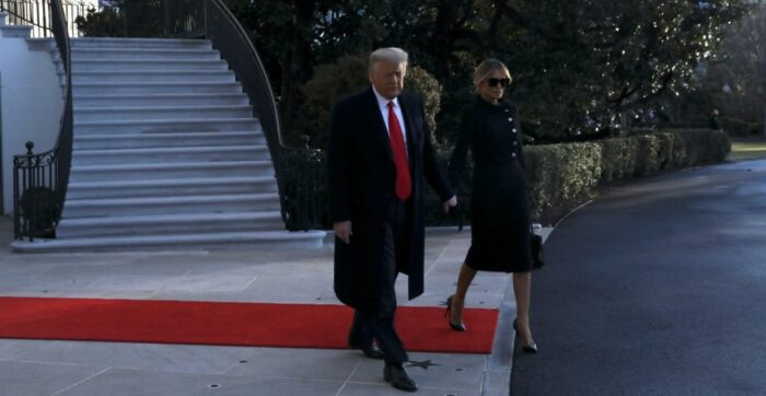Trump ya está en La Florida