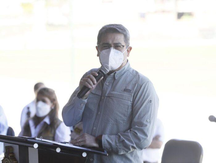 El Pdte Juan Orlando Hernández