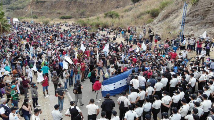 La clase política es responsable de la migración en Honduras