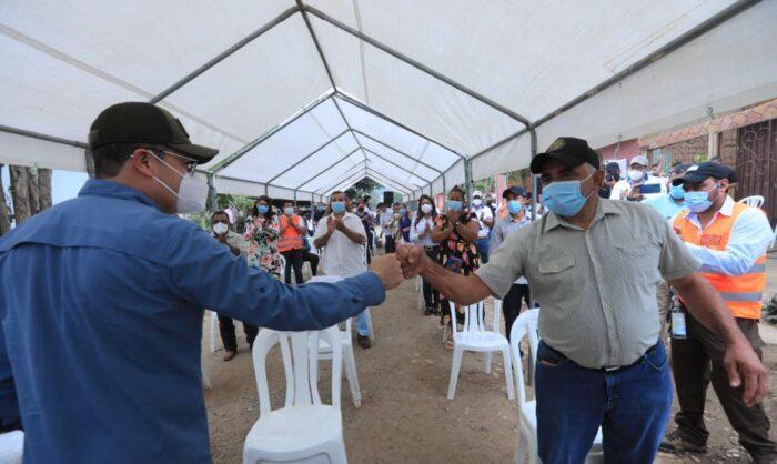 Gobierno apoyando a microempresarios en Olancho