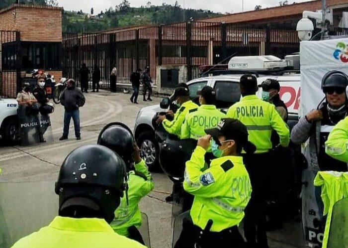 Enfrentamiento en cárceles de Ecuador