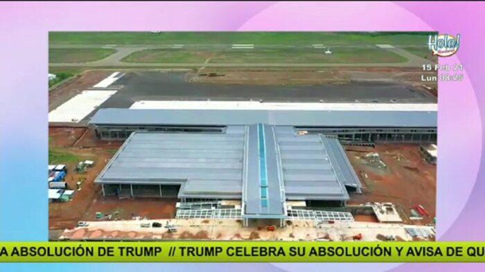 La noticia positiva: Aeropuerto Palmerola funcionará las 24 horas