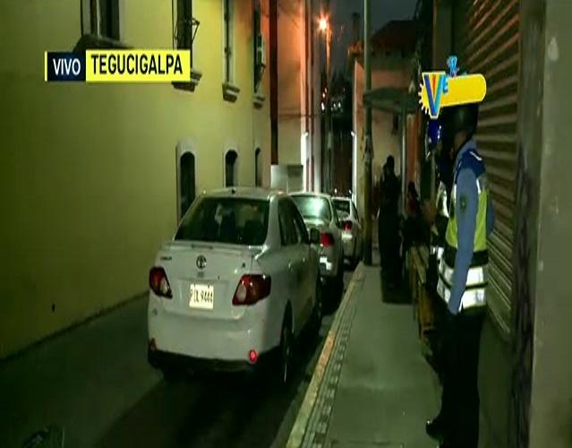 Asaltantes hirieron a taxista en el centro de Tegucigalpa