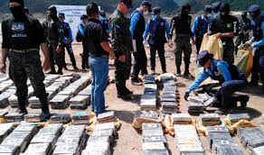 Honduras reporta 87% reducción de drogas