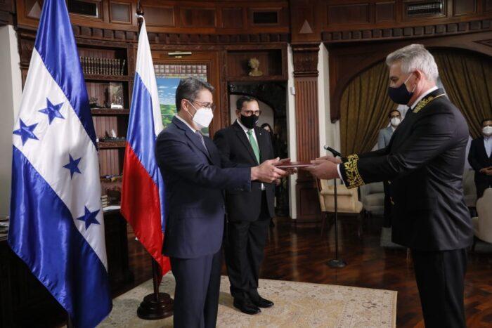Embajador de Rusia en Honduras