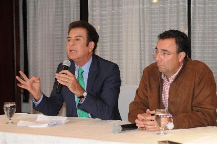 Nasralla apoya Luis Zelaya