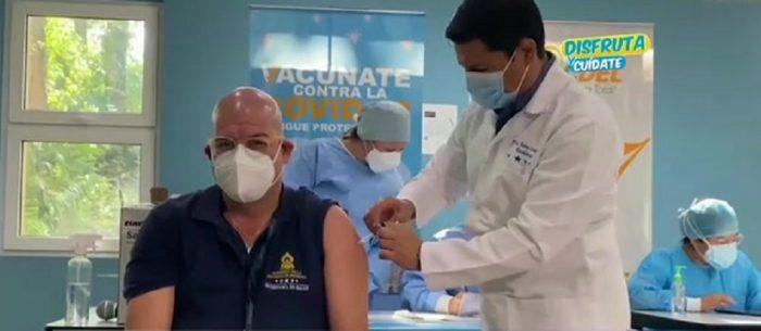 Gobierno continúa con el plan de vacunación contra el Covid-19