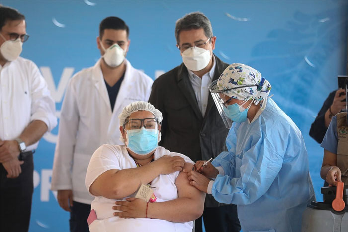 Soraya Ortega enfermera