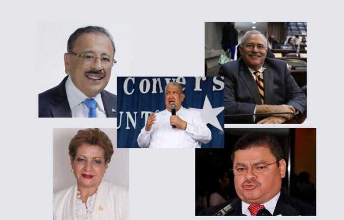 Diputados que no abandonan el Congreso Nacional