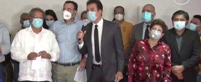 Precandidatos Liberales y de Libre se unen a Alianza con Luis Zelaya y Salvador Nasralla
