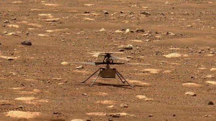 La NASA logra el primer viaje a Marte con su helicóptero Ingenuity