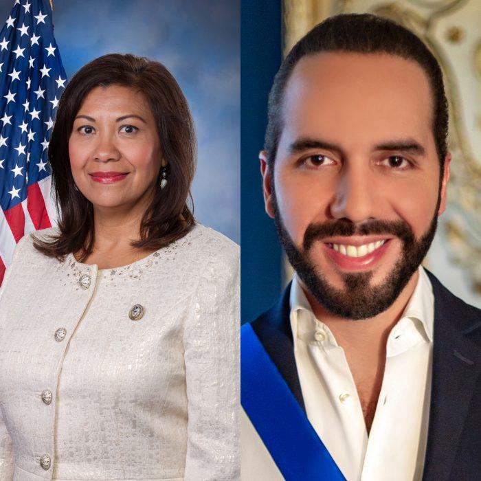 Norma Torres critica a Bukele y lo acusa de inferir en su elección como congresista