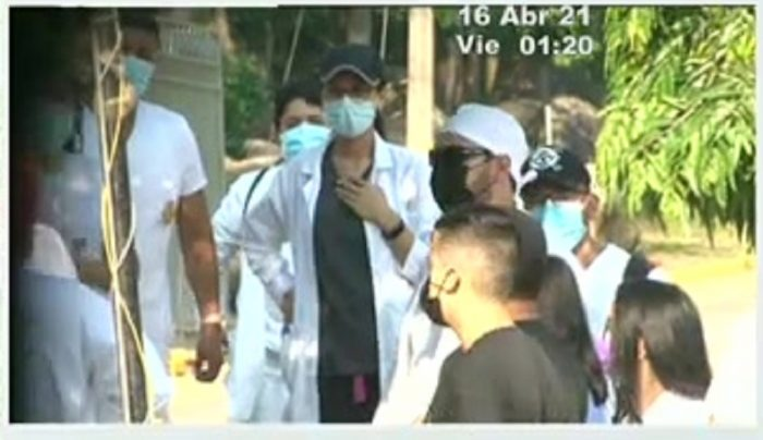 UNAH-VS amaneció tomada por estudiantes de odontología