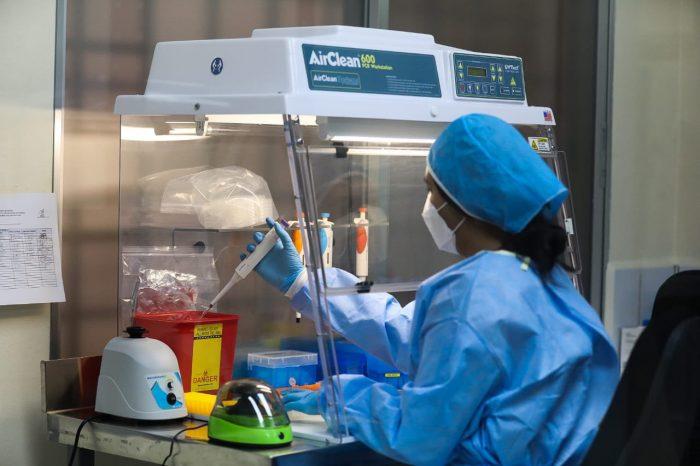 Pdte. Hernández inauguró Laboratorio de Virología en La Ceiba