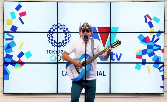 Lanzamiento Olímpicos Tokio VTV