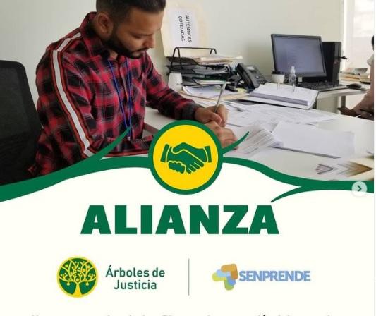 Alianza Árboles de Justicia y Senprende