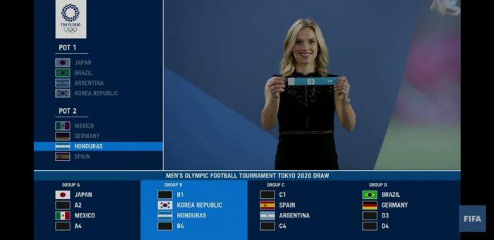 Sub-23 en el grupo B de los Juegos Olímpicos 2021, con Nueva Zelanda, Corea y Rumania