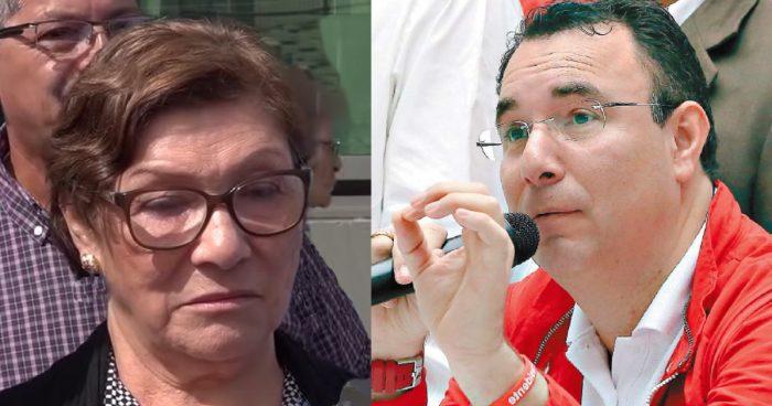 """Luis Zelaya manifestó que la muerte de su madre """"duele por partida doble"""""""