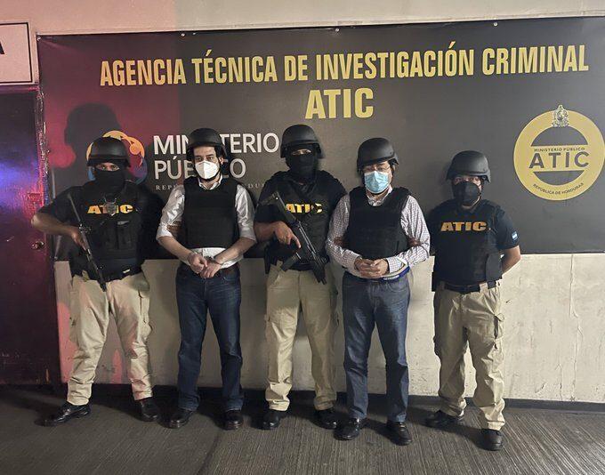Marco Bográn y Alex Moraes son enviados a la penitenciaría de Támara