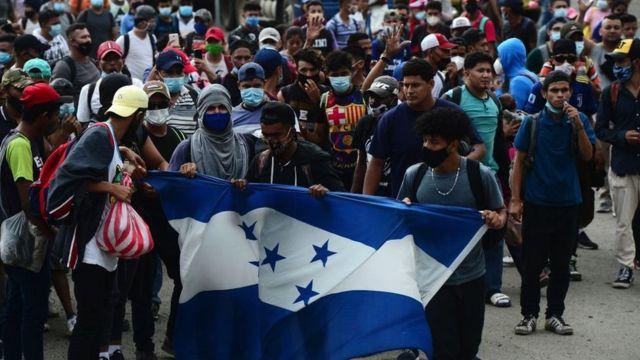Nueva caravana de migrantes saldrá de Honduras a partir del 14 de abril