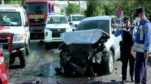 Conductor que provocó accidente de tránsito, podría ser acusado por 3 delitos