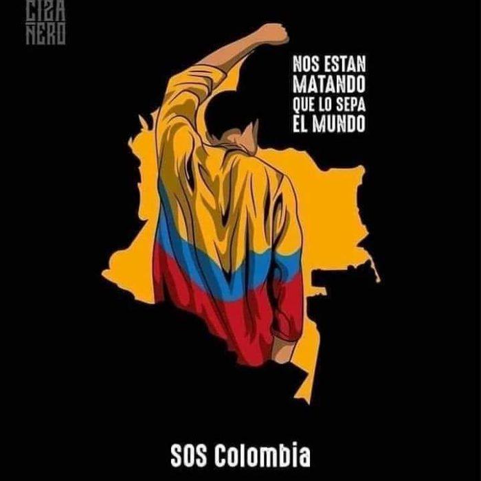 Famosos que apoyan las protestas de Colombia