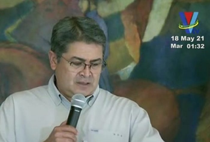 El Presidente Juan Orlando Hernández informa avances en compra de vacunas