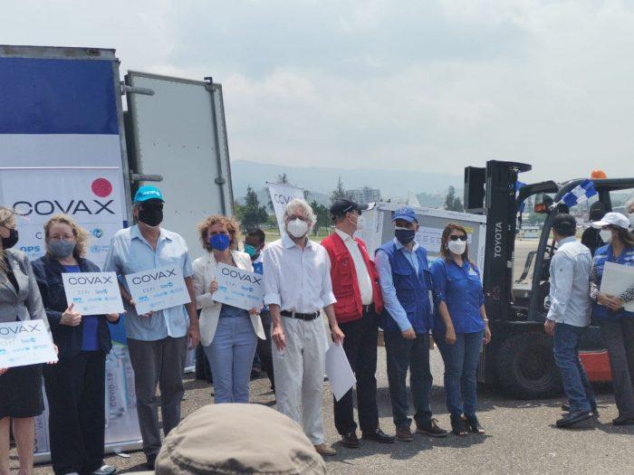Ya llegaron a Honduras las 189.600 dosis de vacuna AstraZeneca