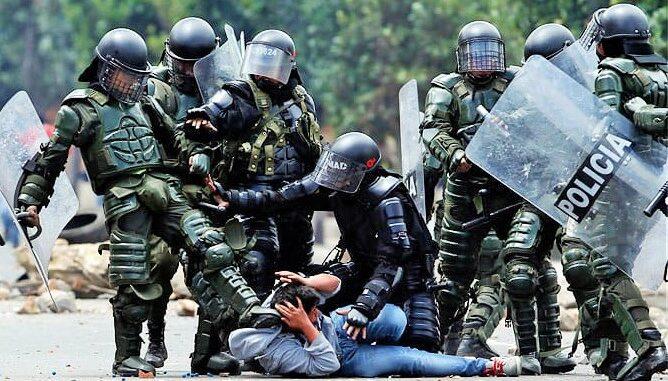 La violencia policial en Colombia está en total descontrol