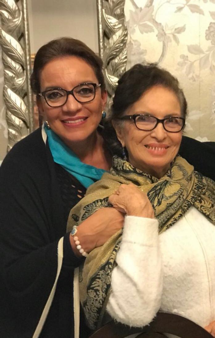 Fallece la madre de Xiomara Castro