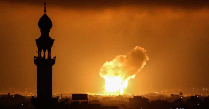 """Advierten del riesgo de una """"guerra a gran escala"""" tras bombardeos entre Israel y palestinos"""