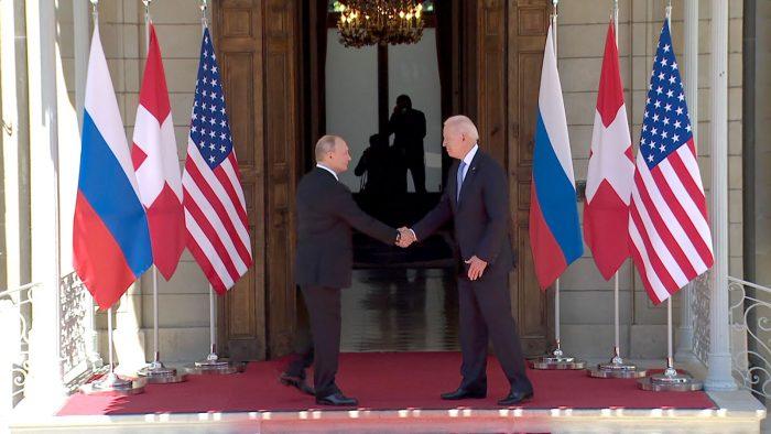 Biden y Putín
