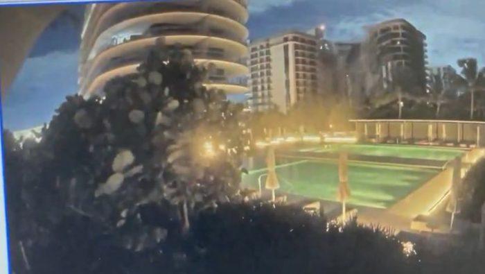 Derrumbe de Miami